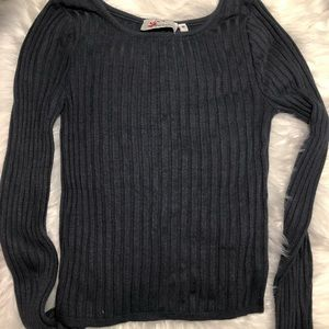 Tops - Ripped Long Sleeve